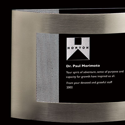 Crystal Blanc, Personalize! Aperture 7""
