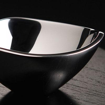 Nambe Metal Tri-Corner Small Bowl