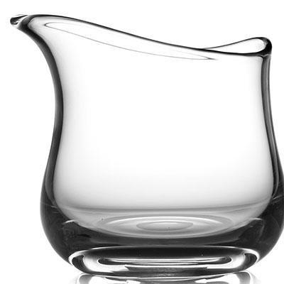 Nambe Moderne Short Art Vase, Clear
