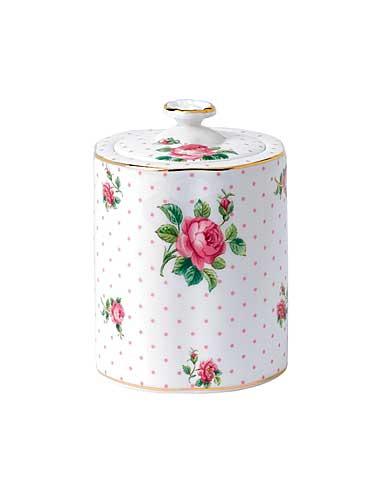 Royal Doulton Royal Albert China New Country Roses Pink Roses Tea Caddy at Sears.com