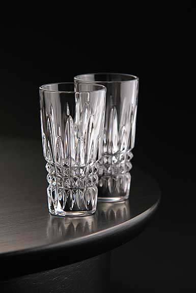 Waterford Giftology Lismore Diamond Vodka Shot Glass, Pair