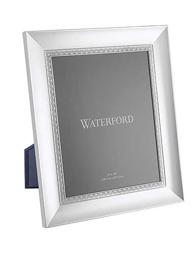 """Waterford Lismore Lace Silver 8 x 10"""" Picture Frame"""
