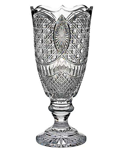 """Waterford Victorian Wicker Limited Edition 18"""" Vase"""