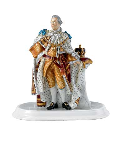 Royal Doulton King George III Figurine, Limited Edition