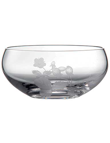 Wedgwood Wild Strawberry Al Fresco Glass Dessert Bowl