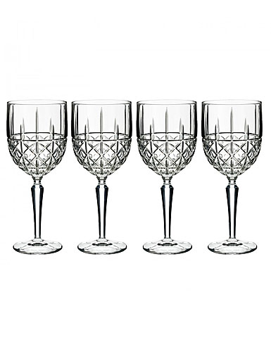 Marquis by Waterford Brady Wine, Set of Four