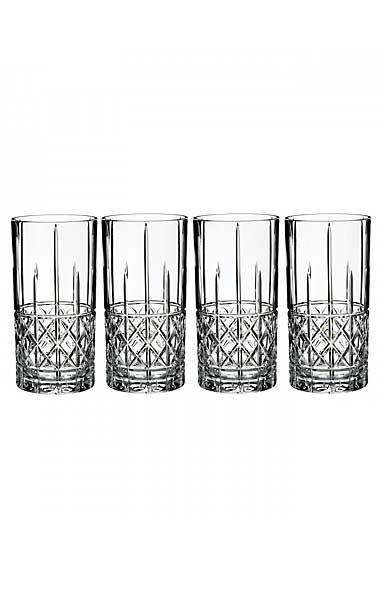 Marquis by Waterford Brady HiBall, Set of Four
