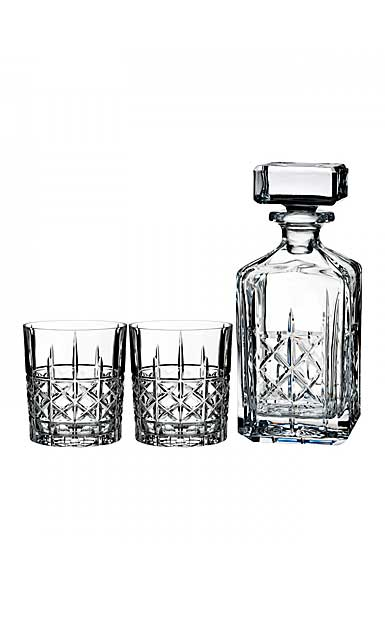 Marquis by Waterford Brady Decanter and 2 DOF Set