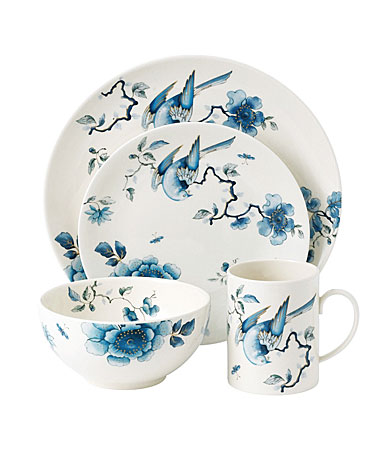 Wedgwood China Blue Bird 16-Piece Set