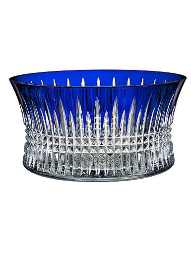 "Waterford Lismore Diamond Cobalt 10"" Bowl"
