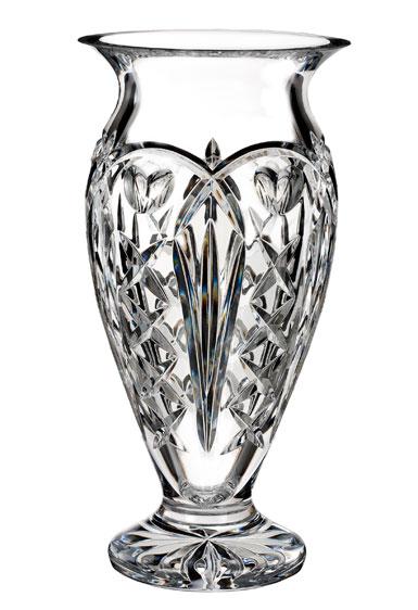 """Waterford House of Waterford Tom Brennan's Ireland 12"""" Vase"""