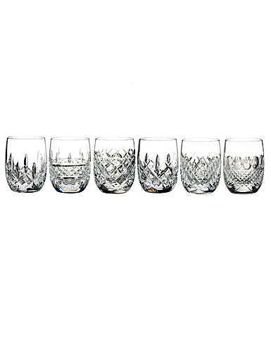 Waterford Lismore Connoisseur Heritage Rounded Tumbler, Set of 6