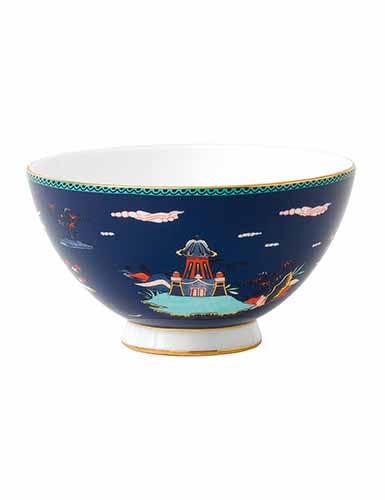 Wedgwood Wonderlust Blue Pagoda Bowl