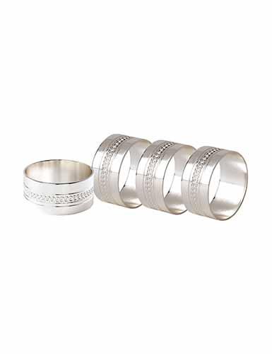 Wedgwood Simply Wish Napkin Ring, Set of 4