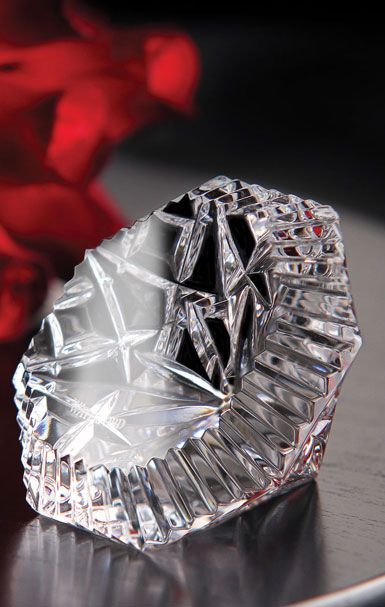 Waterford Heritage Diamond Paperweight