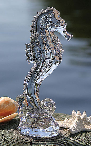 Waterford Heritage Seahorse Paperweight