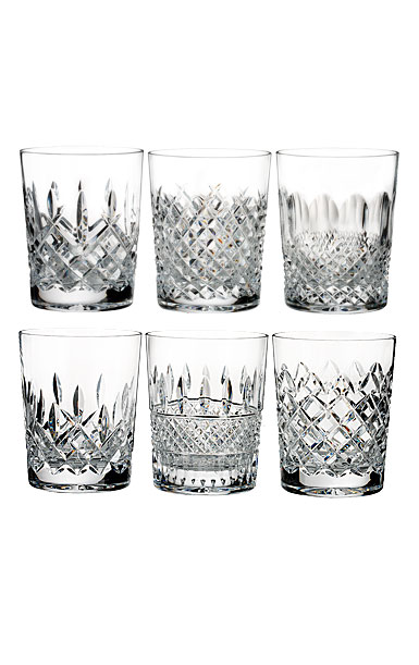 Waterford Lismore Connoisseur Heritage DOF, Set of Six