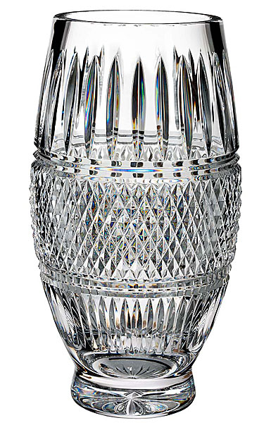 """Waterford House of Waterford Trilogy Irish Lace 12"""" Vase"""