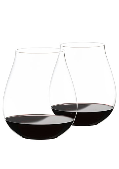 Riedel Big O Pinot Noir Glass, Pair
