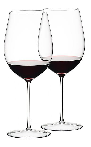 Riedel Sommeliers Bordeaux Grand Cru Glass, Pair