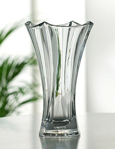 "Galway Crystal Dune Flared 12"" Vase"