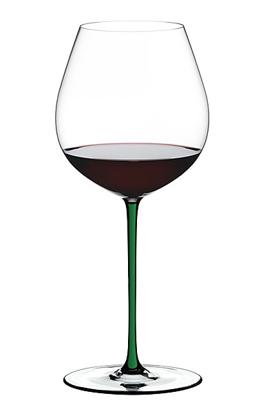 Riedel Fatto A Mano Old World Pinot Noir, Green