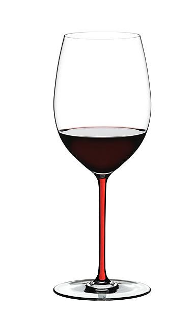 Riedel Fatto A Mano Cabernet Glass, Red