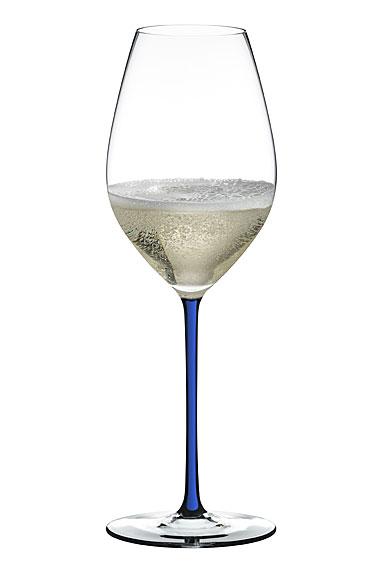 Riedel Fatto A Mano Champagne Wine Glass, Blue