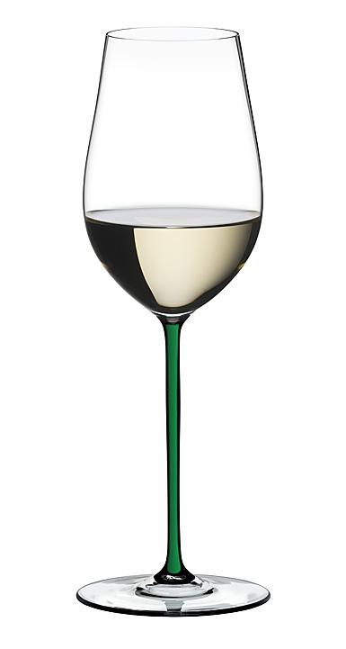 Riedel Fatto A Mano Champagne Wine Glass, Green