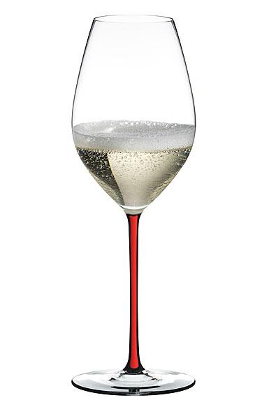 Riedel Fatto A Mano Champagne Wine Glass, Red