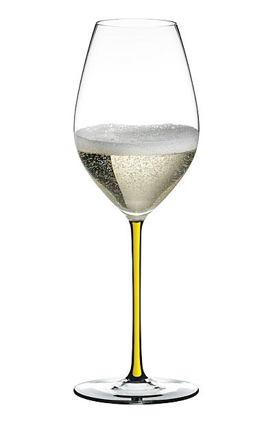 Riedel Fatto A Mano Champagne Wine Glass, Yellow