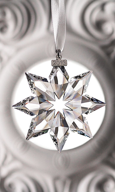 Swarovski Crystal Annual Edition Star Ornament, 2013