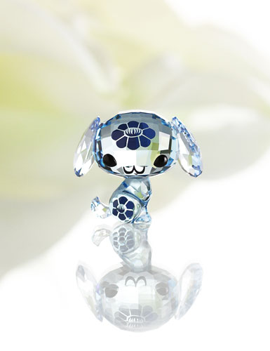 Swarovski Lovlots Zodiac Wan Wan The Dog