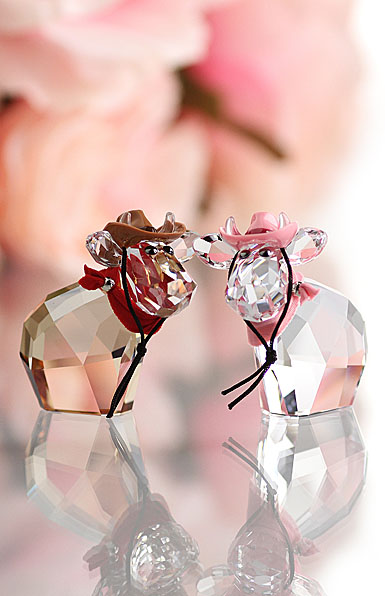 Swarovski Lovlots Cowboy And Cowgirl Mos Limited Edition 2014