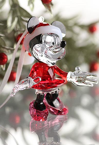 Swarovski Minnie Mouse Christmas Ornament