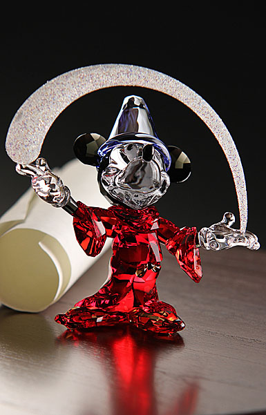 Swarovski Sorcerer Mickey Mouse, Limited Edition 2014