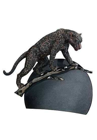 Swarovski Myriad Panther Moonlight Sculpture