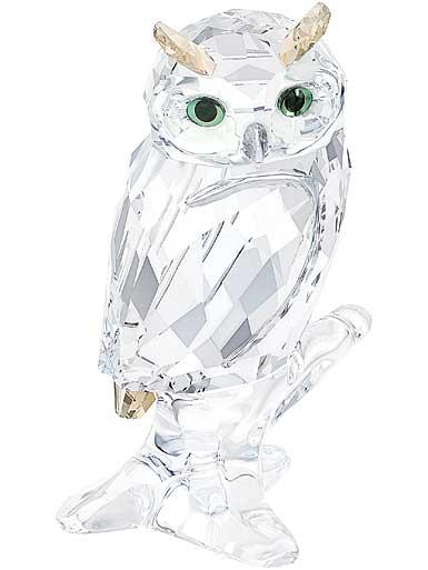 Swarovski Crystal Owl on Branch