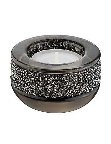 Swarovski Shimmer Tealight, Gray