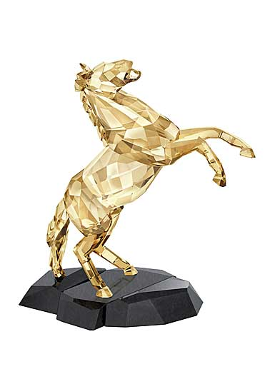 Swarovski Soulmates Golden Shine Stallion Sculpture
