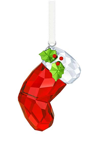 Swarovski Santa's Stocking 2017 Ornament