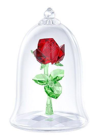 Swarovski Disney Beauty And The Beast Enchanted Rose