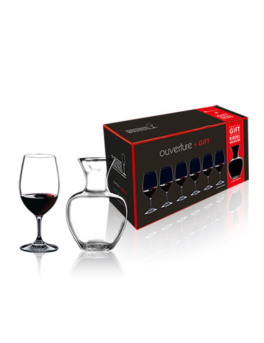 Riedel Ouverture Magnum and Apple Decanter Gift Set