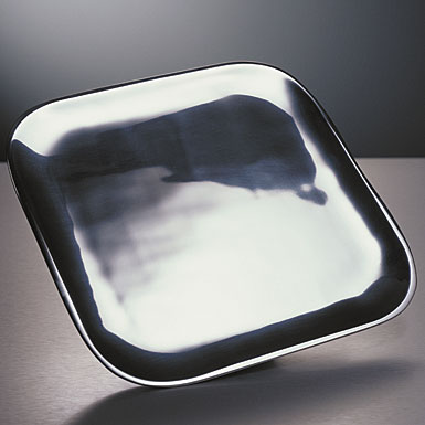 Nambe Metal Square Salad Plate