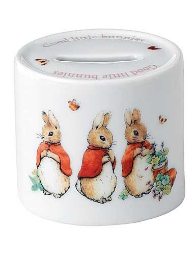 Wedgwood China Peter Rabbit Girl's Money Box