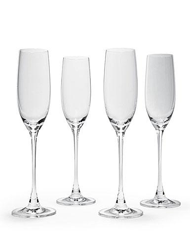 Lenox Tuscany Classics Crystal Flutes - Set of 4