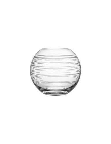 Orrefors Graphic Round Vase, Medium
