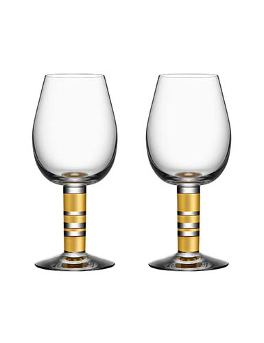 Orrefors Morberg Exclusive Red Wine, Pair