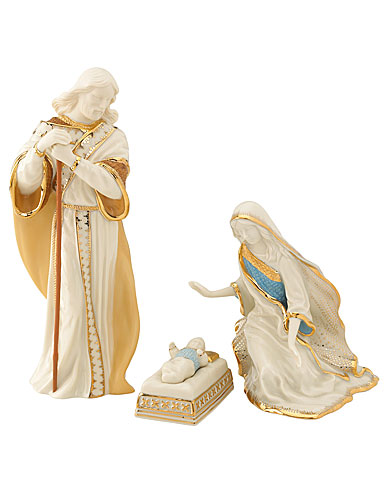 Lenox First Blessing Nativity Holy Family, Set of 3