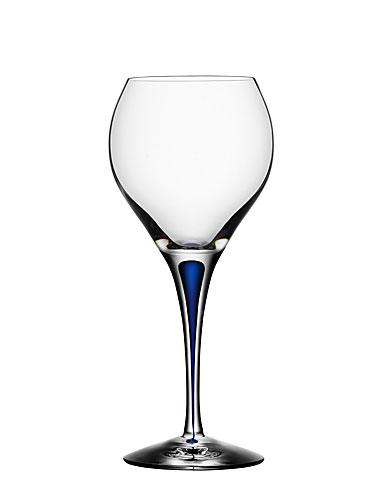 Orrefors Intermezzo Blue Sweet Wine Glass